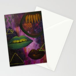 Three Mouths Stationery Cards