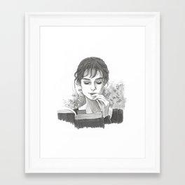 Pride & Prejudice - Elizabeth Bennet Framed Art Print