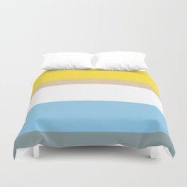 Colours of Homer Duvet Cover