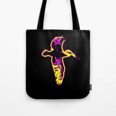 My Flying Pelican (d) Tote Bag