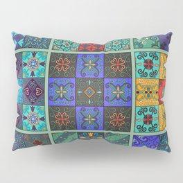 Vintage mosaic talavera ornament Pillow Sham