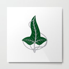 Leaf of Lorien Metal Print