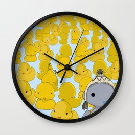 Ugly Duckling Wall Clock
