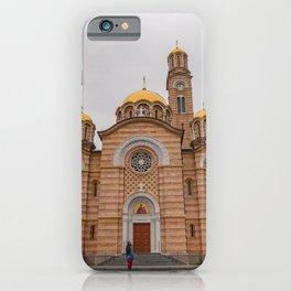 Banja Luka Cathedral in Bosnia and Herzegovina iPhone Case