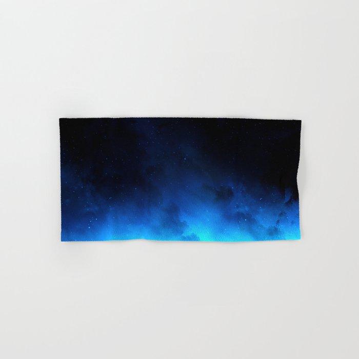 Black Nebula Hand & Bath Towel