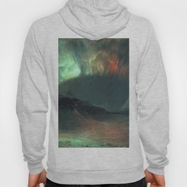 Aurora Borealis by Frederic Edwin Church Hoody