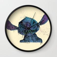 Zombie Stitch Wall Clock