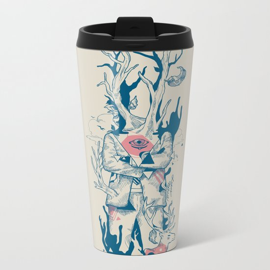 Lusus Naturae Metal Travel Mug