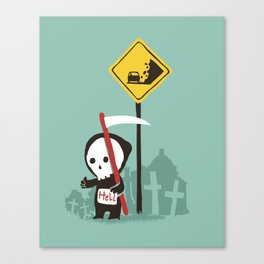 Highway to hell Canvas Print