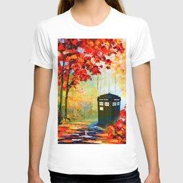 TARDIS PAINTING T-shirt