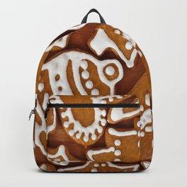 Christmas Gingerbread Pattern  Backpack