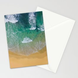 Ocean from the sky Stationery Cards