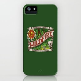 The Green Demon iPhone Case