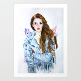 Lana / Yayo Art Print