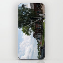 Fradley junction wharf iPhone Skin