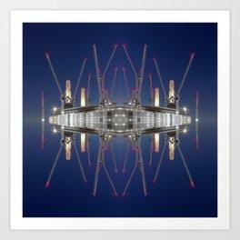 Battersea Power Station, London Art Print
