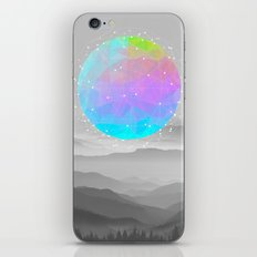 Worlds That Never Were (Geodesic Moon) iPhone & iPod Skin