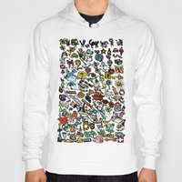 the 100 Hoodies featuring 100 things by Michelle Behar