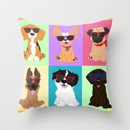 Breeds by NilseMariely, Diseños queLadran Throw Pillow