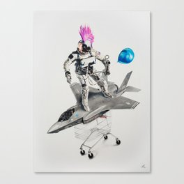 Abjectified: Skunk Works Canvas Print