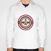 totem Hoodies featuring Totem by Tami Cudahy