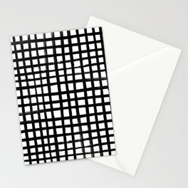 Hand-painted Grid Stationery Cards