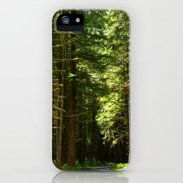 On A Road To The Rainforest iPhone Case