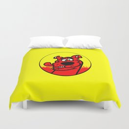 dog scooby Duvet Cover