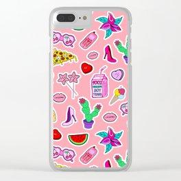 SA_p02 Clear iPhone Case