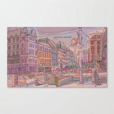 Astoria-Budapest Canvas Print