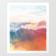 Mountain Glory #society6 #decor #buyart Art Print
