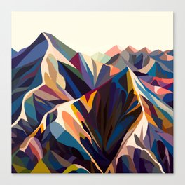 Mountains original Canvas Print