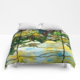 Louis Comfort Tiffany - Decorative stained glass 11. Comforters