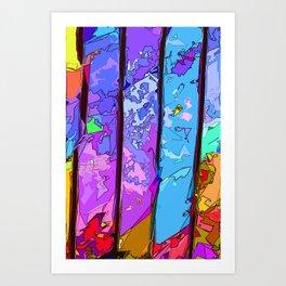 Let's Compartmentalise  Art Print