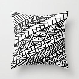 Quick Doodle Throw Pillow