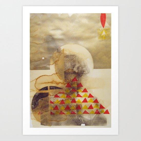 bcsm 004 (teepee) Art Print