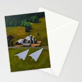 Tandem Flight Stationery Cards