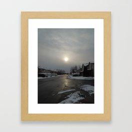 Hoth - III Framed Art Print