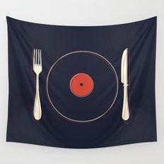 Vinyl Food Wall Tapestry