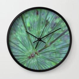 Elegant Equisetum Wall Clock