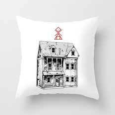 Petite Mort Throw Pillow
