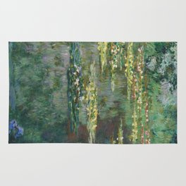 Water Lilies 1904 by Claude Monet Rug