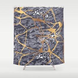 Kintsugi # 1 Shower Curtain