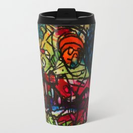 "Once in a Blue Moon and Mars says""Yo!"" Travel Mug"