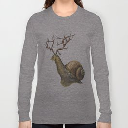 Snail Long Sleeve T-shirt