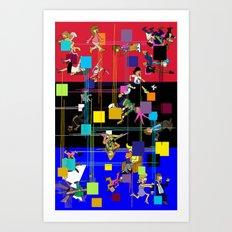 Viva La France Equinox Edition 2014 Art Print