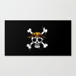Skull - Pirates Canvas Print