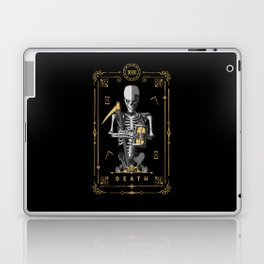 Death XIII Tarot Card Laptop & iPad Skin