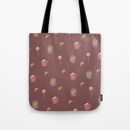 Dark sweet pattern Tote Bag