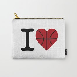 I love basketball Carry-All Pouch